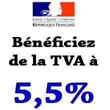 Qui a droit à la TVA à 10 % pour ses travaux?