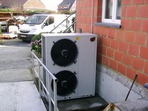 Pompe à chaleur installée par Oplusr