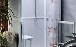 La douche pour personne à mobilité réduite