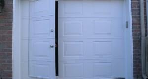 Qu'est-ce que la porte de garage piéton?