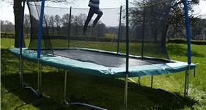 Le trampoline rectangulaire ? Pourquoi pas