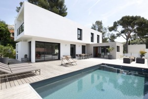 Villa contemporaine en Provence