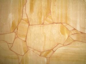 20131211 - Pose pierre de parement intérieur
