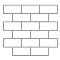 20131211 - Pose pierre de parement intérieur quinconce