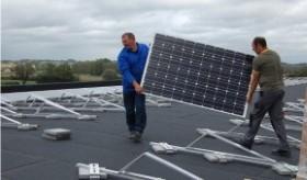 Credit panneaux solaire