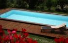 Avec une piscine bois : plus besoin de partir en vacances !