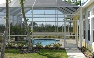 Construction veranda