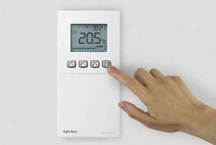 thermostat ambiance sans fil aterno