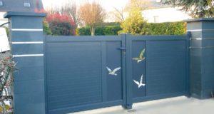 Comment peindre un portail en aluminium ?