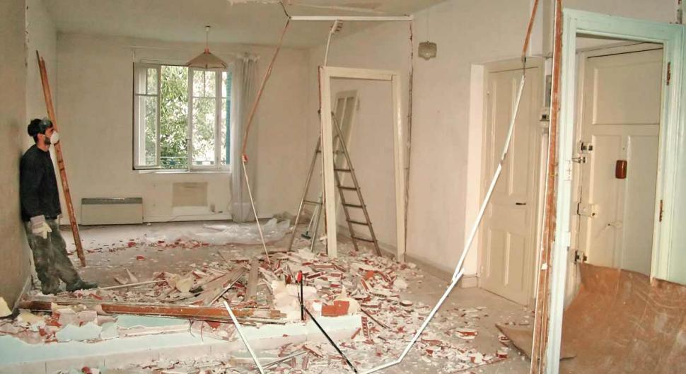travaux demolition interieur