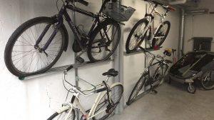 fixation murale pour vélo