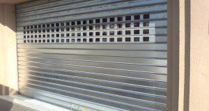 Un rideau métallique pour votre devanture