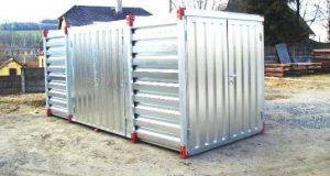 Créer votre espace de self stockage avec les containers de stockage en kit