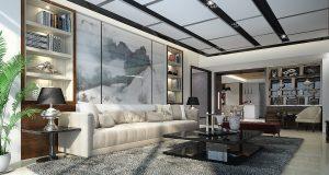 Le style plafond tendu